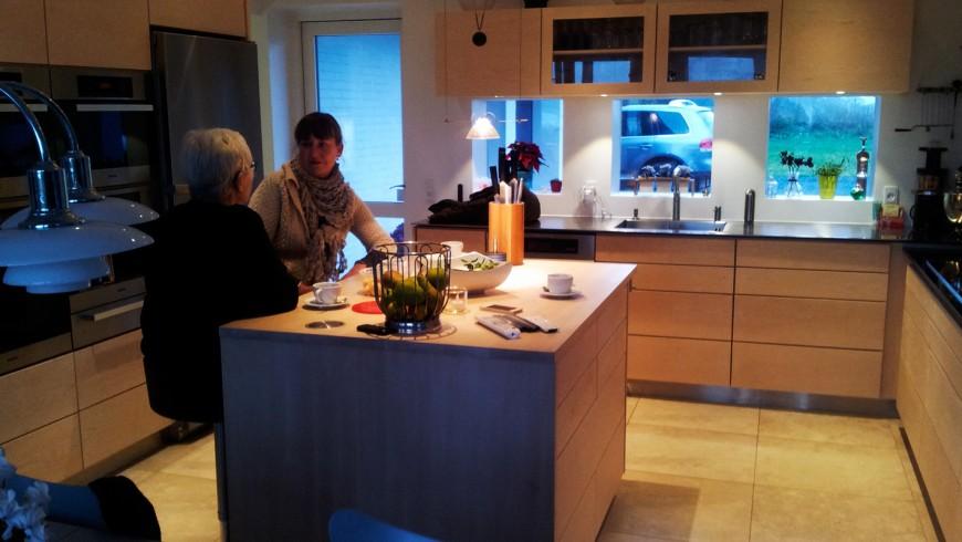 Sauntebordet - snedkerkøkken
