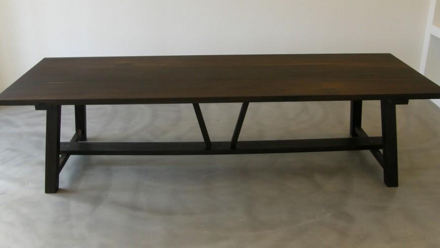 Sauntebord - plankebord i moseeg